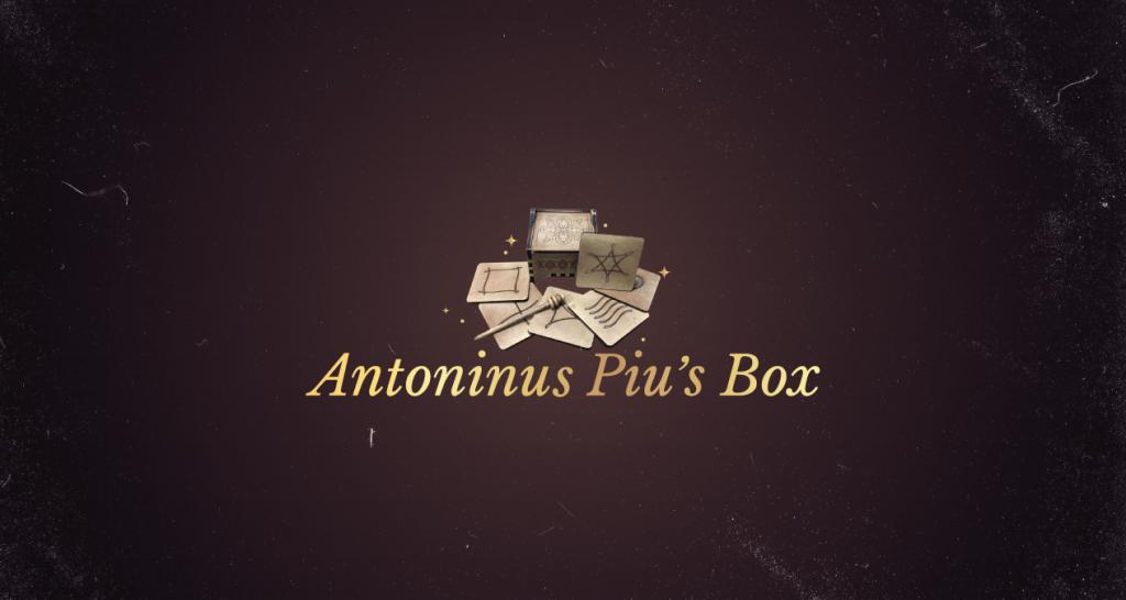 Antoninus Piu´s Box
