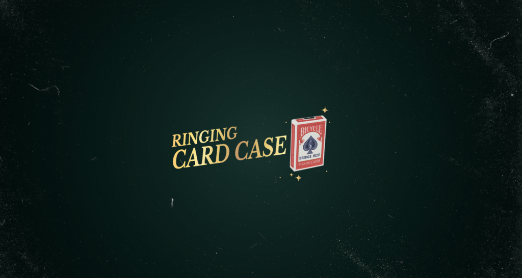 Ringing Card Case